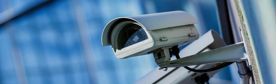 Modern CCTV Security Camera Surveillance